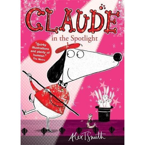 Claude The Dog Series Collection X 6 Children Books Box Set By Alex T Smith - The Book Bundle