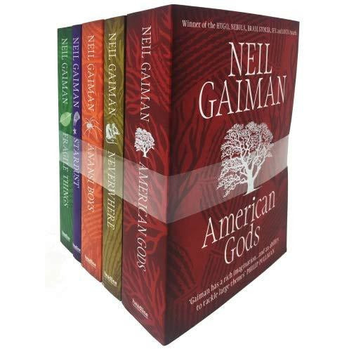 Neil Gaiman American Gods 5 Books Collection Set - The Book Bundle