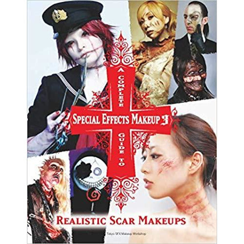 A Complete Guide to Special Effects Makeup 3 By  Tokyo SFX Makeup Workshop - The Book Bundle