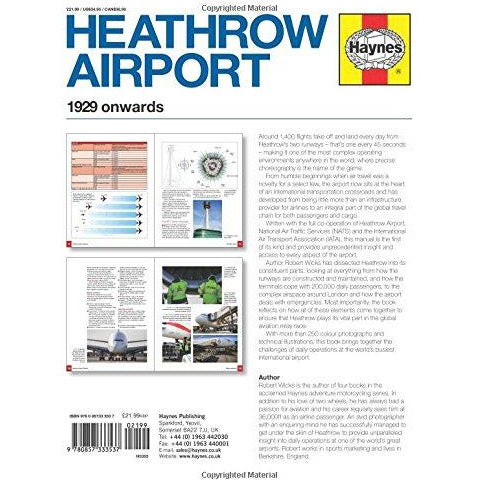 Heathrow Airport Manual (New Ed) (Haynes Operational Manual) - The Book Bundle