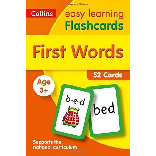 First Words Flashcards: Ideal for Home Learning - The Book Bundle