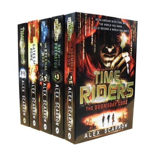 TimeRiders Collection Alex Scarrow 5 Books Set Pack - The Book Bundle