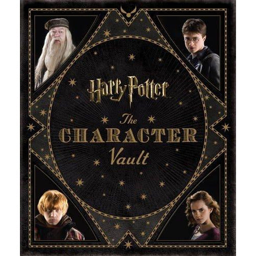 Magical Places and The Character Vault 2 Books Bundle Harry Potter Collection - The Book Bundle