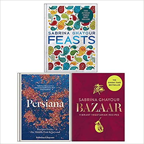 Sabrina Ghayour 3 Books Collection Set(Persiana, Bazaar, Feasts) - The Book Bundle
