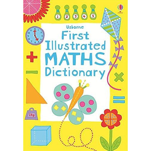 First Illustrated Maths Dictionary (Usborne Dictionaries): 1 - The Book Bundle