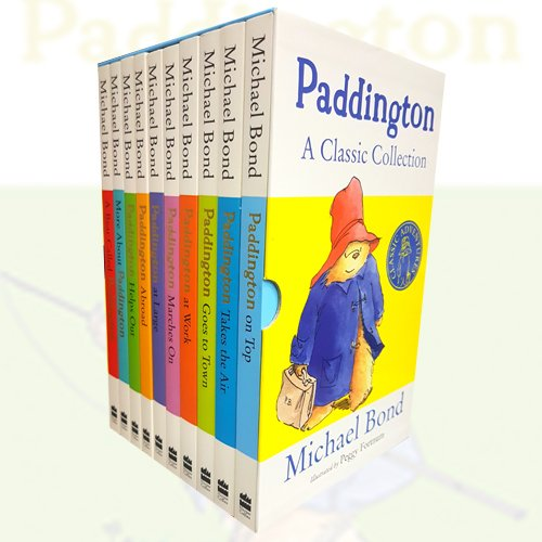 Michael Bond Paddington A classic collection 10 books Box set - The Book Bundle