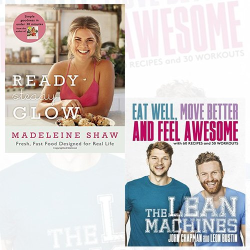 Ready Steady Glow and The Lean Machines [Paperback] 2 Books Bundle Collection - The Book Bundle