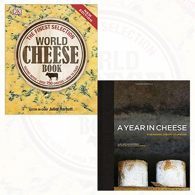 A Year in Cheese and World Cheese Book Collection 2 Books Bundle Set - The Book Bundle