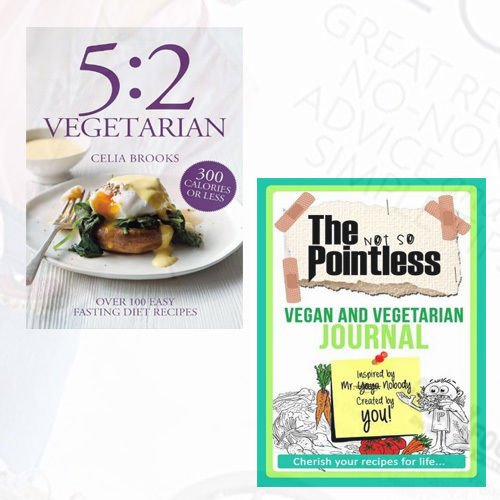 5:2 Vegetarian Cookbook Book and Journal Collection - The Book Bundle