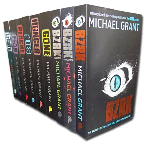 Gone and BZRK Series Michael Grant Collection 9 Books Set - The Book Bundle
