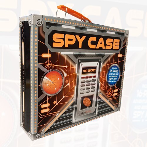 SPY CASE Top Secret Includes 16 Page Adventure Book and Awesome SPY KIT - The Book Bundle