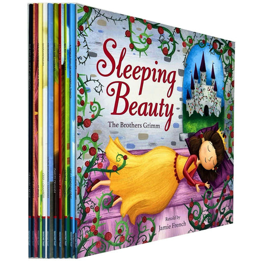 Children Picture Storybooks 10 Books Collection Set (Sleeping Beauty, Snow White, Big Pig and Piglet) - The Book Bundle