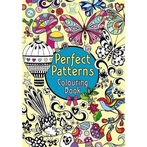 Perfect Patterns Colouring Book (Pretty Patterns) - The Book Bundle