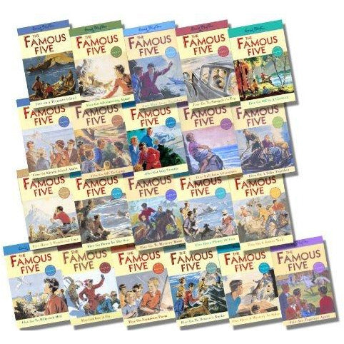 The Famous Five Classic Editions COMPLETE Collection, 21 Books - The Book Bundle