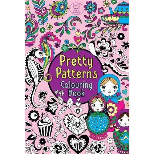 Pretty Patterns Colouring Book (Pretty Patterns) (Buster Activity) - The Book Bundle