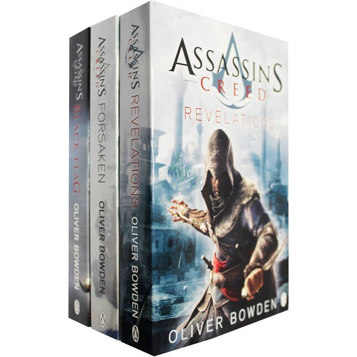 Oliver Bowden Assassins Creed - 3 Book Collection - Books 4-6 - The Book Bundle