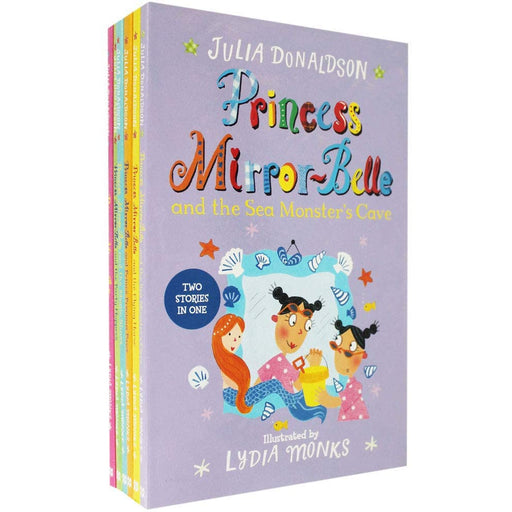 Julia Donaldson Princess Mirror-Belle - 6 Book Collection - The Book Bundle