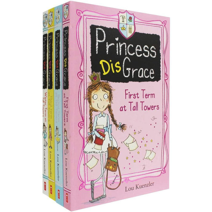 Lou Kuenzler Princess Disgrace X4 Pbs S W - The Book Bundle
