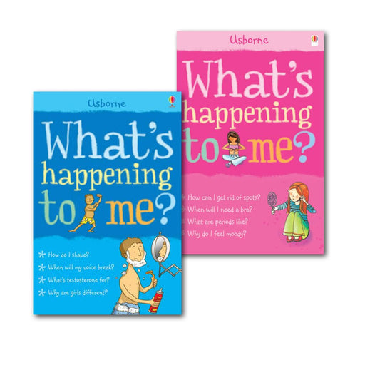 Collection of What's Happening to Me? (Facts of Life), (Girls Edition & Boy) - The Book Bundle
