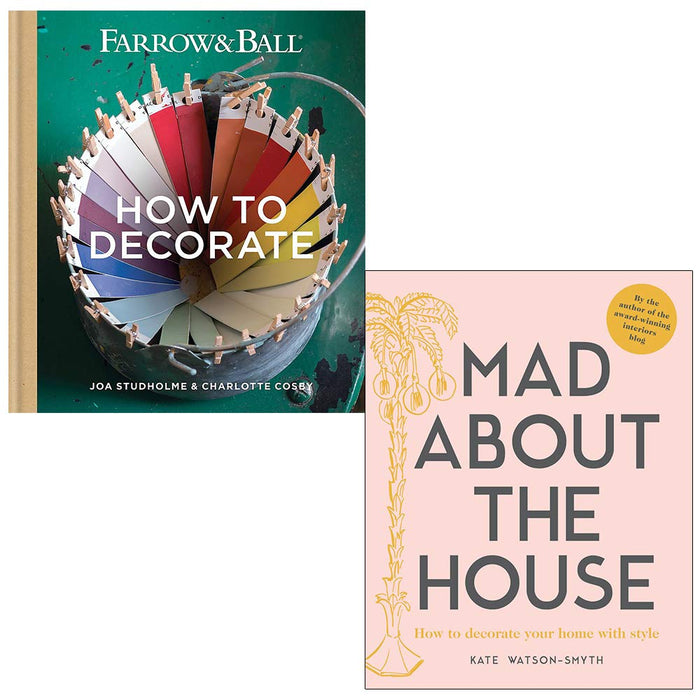 Farrow & Ball How to Decorate, Mad about the House 2 Books Collection Set - The Book Bundle