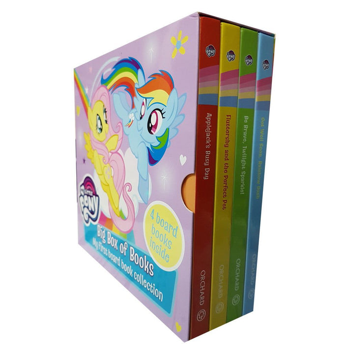 My Little Pony 4 Toddlers Board Books Collection Set - The Book Bundle
