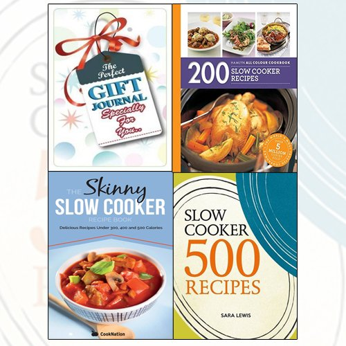 Hamlyn All Colour Cookbooks Collection 3 Books Bundle With The Perfect Gift Journal - The Book Bundle