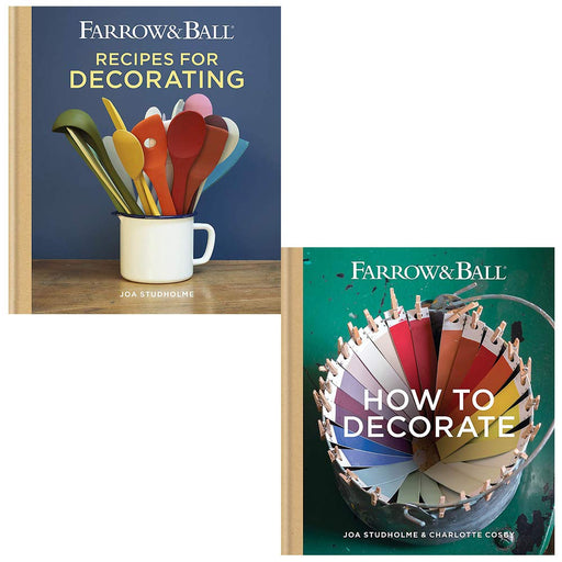 Farrow & Ball Recipes for Decorating, How to Decorate 2 Books Collection Set - The Book Bundle