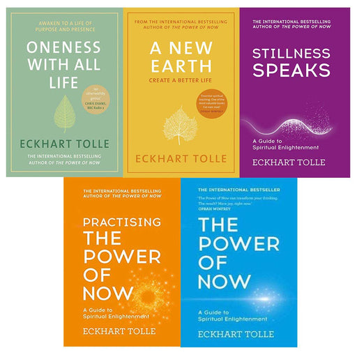 Eckhart Tolle the Power of now Collection 5 Books Set - The Book Bundle