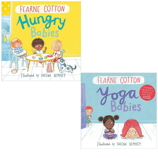 Fearne cotton collection 2 books set (hungry babies [hardcover], yoga babies) - The Book Bundle