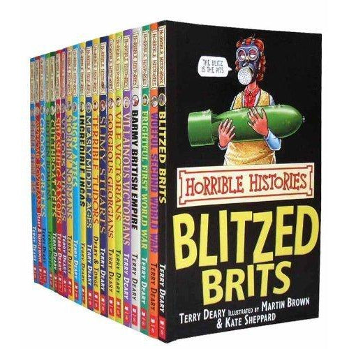 Horrible Histories Collection (20 Books Set) - The Book Bundle