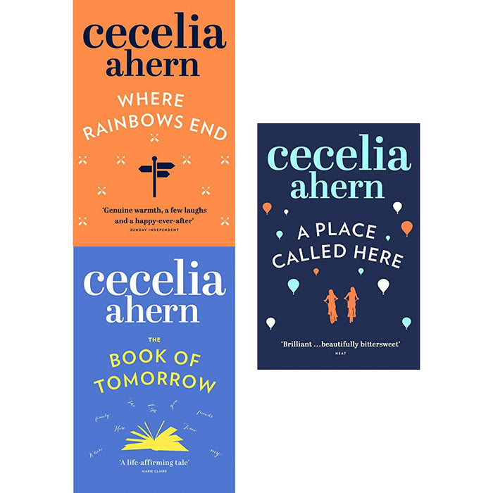 Cecelia ahern series 2 : 3 books collection set pack (where rainbows end, the book of tomorrow, a place called here) - The Book Bundle