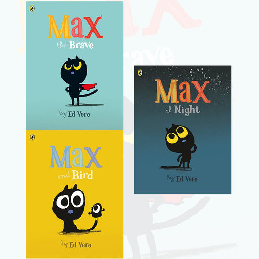Max Ed Vere Collection 3 Books Set - The Book Bundle