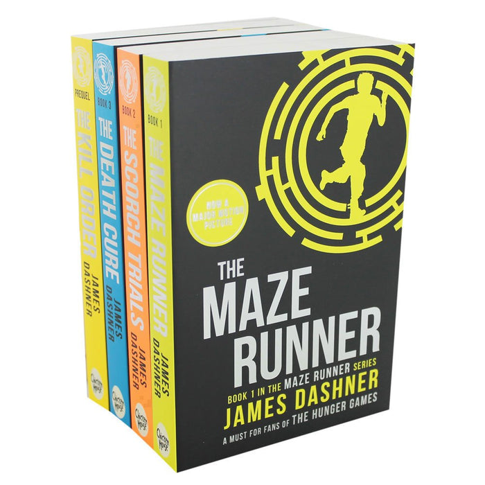 Chicken House The Maze Runner Book Series - The Book Bundle