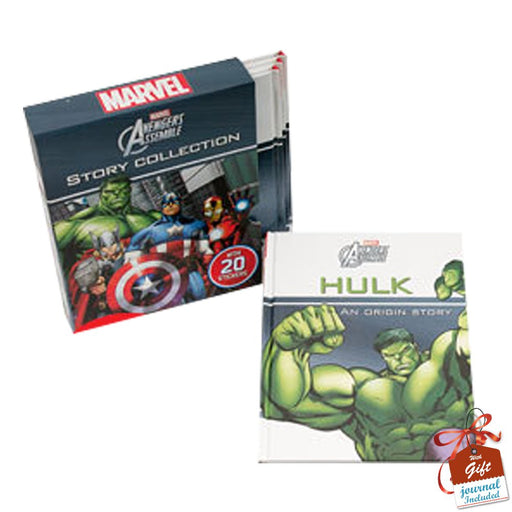 Marvel Avengers Assemble Collection 4 Books Bundle With Gift Journal - The Book Bundle