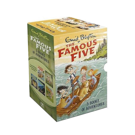 Famous five collection 5 books set by enid blyton - The Book Bundle