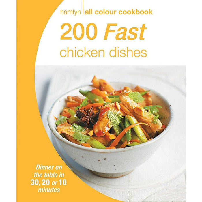 200 Fast Chicken Dishes: Hamlyn All Colour Cookbook (Hamlyn All Colour Cookery) - The Book Bundle