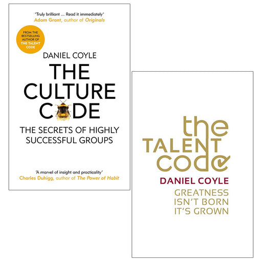Daniel Coyle Collection 2 Books Set (The Culture Code, The Talent Code) - The Book Bundle