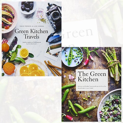 Green Kitchen Cookbook Collection 2 Books Bundle (Delicious and Healthy Vegetarian Recipes for Every Day, Travels) - The Book Bundle