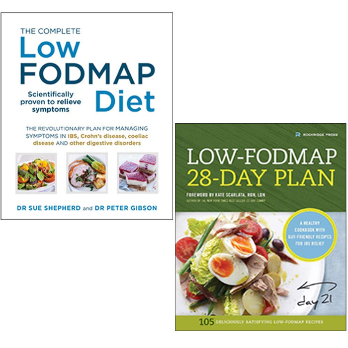 The Complete Low-FODMAP Diet & Low-Fodmap 28-Day Plan 2 Books Collection Set - The Book Bundle