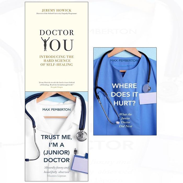Doctor you and where does it hurt and trust me 3 books collection set - The Book Bundle