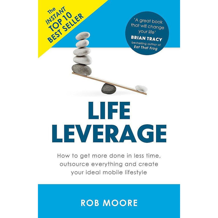 The Total Money Makeover [Hardcover], Money Master The Game, Money Know More Make More Give More, Life Leverage 4 Books Collection Set - The Book Bundle
