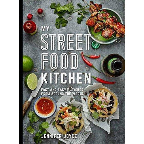 My Street Food Kitchen and Big Flavours from a Small Kitchen 2 Books Bundle Collection - Fast and easy flavours from around the world, Chriskitch - The Book Bundle