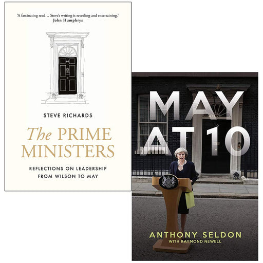 The Prime Ministers, May at 10 2 Books Collection Set - The Book Bundle