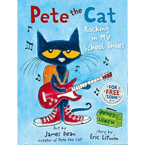 Pete the Cat Rocking in My School Shoes Paperback NEW - The Book Bundle