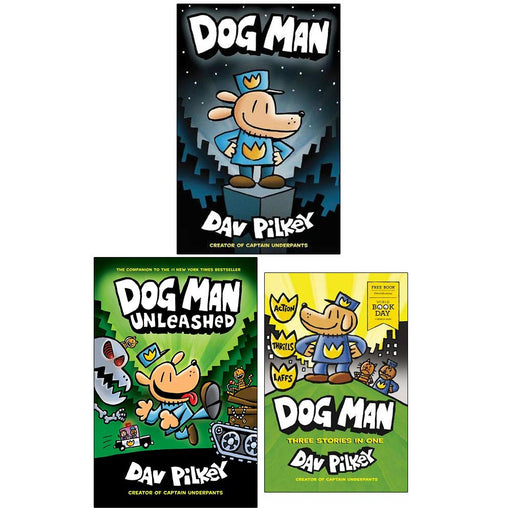 Dog Man Book 1,2 & World Book Day : 3 Books Collection Set (Dog Man, Dog Man Unleashed) - The Book Bundle