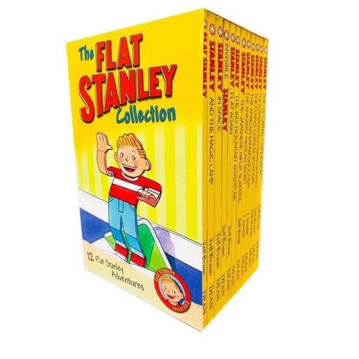 The Flat Stanley Adventures 12 Books Collection by Jeff Brown - The Book Bundle