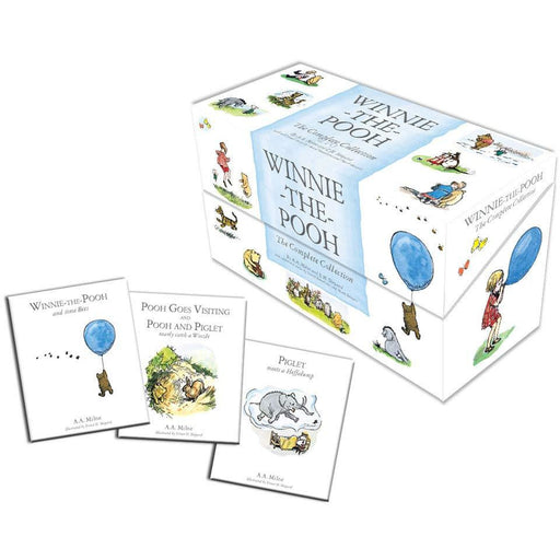 Winnie-the-Pooh: The Complete 30 Books Collection Box set by A. A. Milne - The Book Bundle