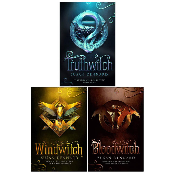 Witchlands Series 3 Books Collection Set By Susan Dennard - The Book Bundle