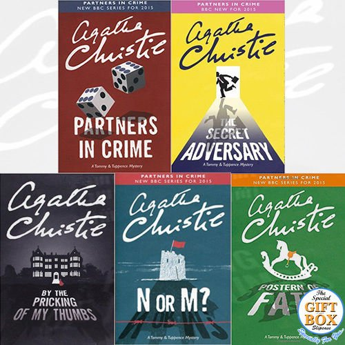 Agatha Christie Tommy & Tuppence Chronology Collection 5 Books Bundle Gift Wrapped Slipcase Specially For You - The Book Bundle