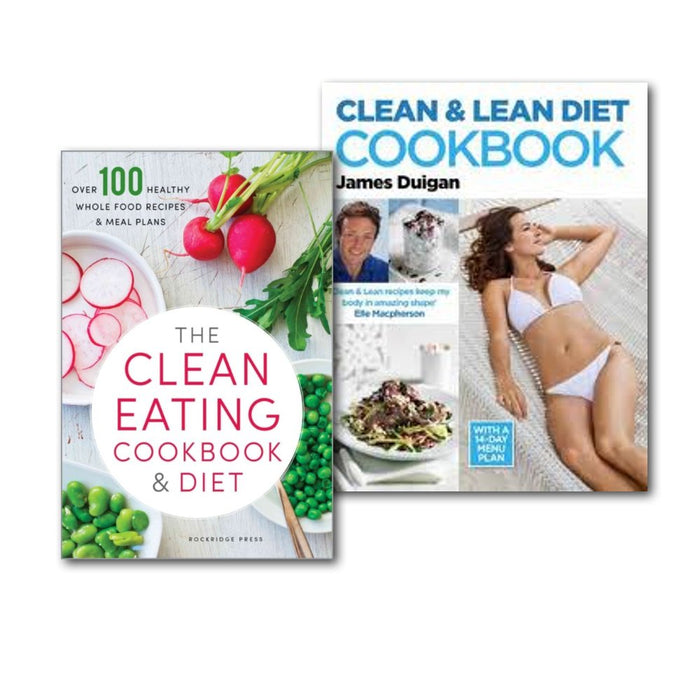 Clean & Lean Diet Cookbook Collection 2 Books Set - The Book Bundle